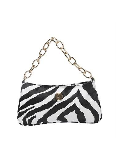 TH Bags   Kadın Omuz Çantası Th053700  Zebra